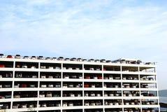 большая стоянка автомобилей Стоковое Изображение RF