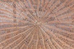 Большая текстура естественной соломы от зонтика пляжа Стоковые Изображения