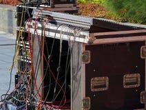 Большая тональнозвуковая консоль смесителя Стоковые Фотографии RF