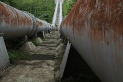 Большая труба, соединить реку, версия 11 Стоковые Фотографии RF