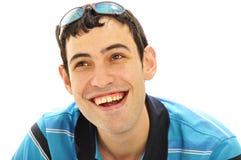 большая усмешка человека Стоковая Фотография
