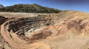 Большая шахта минно-заградительной операции & боксита Стоковые Изображения