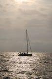 большая яхта Стоковое Изображение