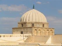 большая kairouan мечеть Тунис стоковая фотография rf
