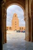 большая kairouan мечеть Стоковая Фотография RF