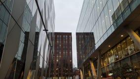Большие административные здания в центре города Стоковые Фотографии RF