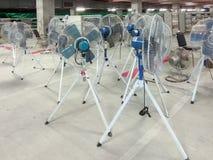 Большие вентиляторы используемые в фабриках Стоковые Фотографии RF