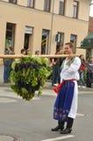 большие виноградины держат человека Стоковое фото RF