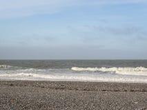 Большие волны на море, Северном море в движении стоковые изображения rf