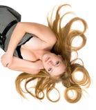 большие волосы стоковая фотография rf
