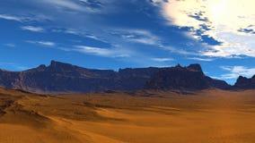 большие горы Стоковые Фотографии RF
