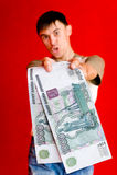 большие деньги стоковое изображение