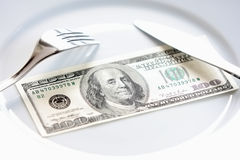 большие деньги Стоковая Фотография
