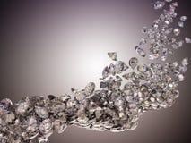 Большие диаманты пропускают Стоковые Фотографии RF