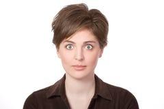 большие женщины глаз Стоковое Фото