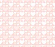 Большие и малые сердца Стоковая Фотография RF