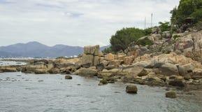большие камни стоковое фото rf
