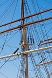 большие корабли рангоута Стоковое Изображение RF
