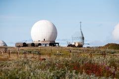 Большие научные антенны Стоковые Изображения RF