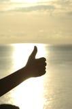 большие пальцы руки вверх Стоковые Фото
