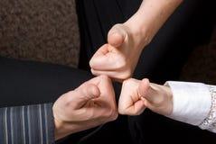Большие пальцы руки вверх! Стоковая Фотография RF