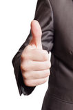 большие пальцы руки вверх Стоковое фото RF