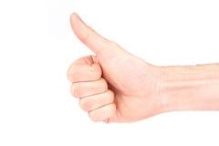 большие пальцы руки вверх Стоковое Изображение RF