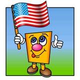 большие пальцы руки поднимают США Стоковое фото RF