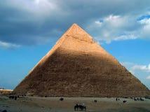 Большие пирамиды Египта стоковые изображения rf