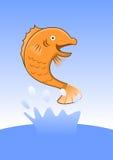 Большие рыбы Стоковая Фотография