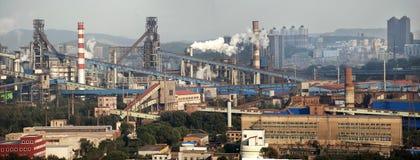 Большие стальные предприятия Стоковое Изображение