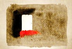 Большие ходы щетки на бумаге хлопка бесплатная иллюстрация