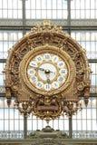 Большие часы в ` Orsay musée d paris 01 10 2011 Стоковая Фотография