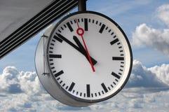большие часы стоковое изображение