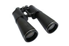 Большие черные бинокли Стоковая Фотография RF