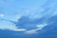 Больший часть из верхнего левого угла firmament, чистого, освобождает от облаков стоковое изображение