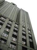 Большим высокорослым предпосылка изолированная небоскребом стоковая фотография