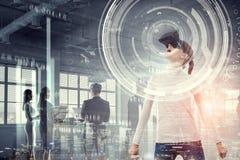 Большинств впечатляющие технологии развлечений Мультимедиа Стоковые Изображения