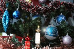 Большинств красивые украшения для рождественской елки стоковые изображения rf