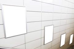 4 больших афиши пробела ориентации вертикали/портрета с предпосылкой лестниц стоковые изображения rf