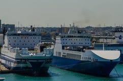 2 больших корабля Стоковые Фото