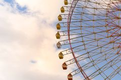 Большое гигантское колесо ferris ярмарки Стоковые Фотографии RF