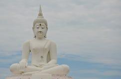 большое изображение Таиланд Будды Стоковая Фотография RF