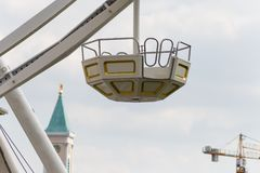 большое колесо и кабины Стоковые Изображения RF