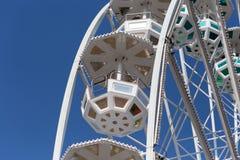 большое колесо и кабины Стоковые Фотографии RF