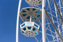 большое колесо и кабины Стоковое Фото