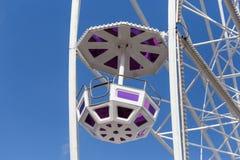 большое колесо и кабины Стоковое фото RF