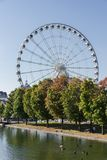 Большое колесо Монреаля Канады стоковая фотография