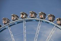 Большое колесо на Oktoberfest, Мюнхен. Деталь Стоковое Фото