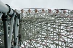 большое колесо стали конструкции Стоковое Фото
